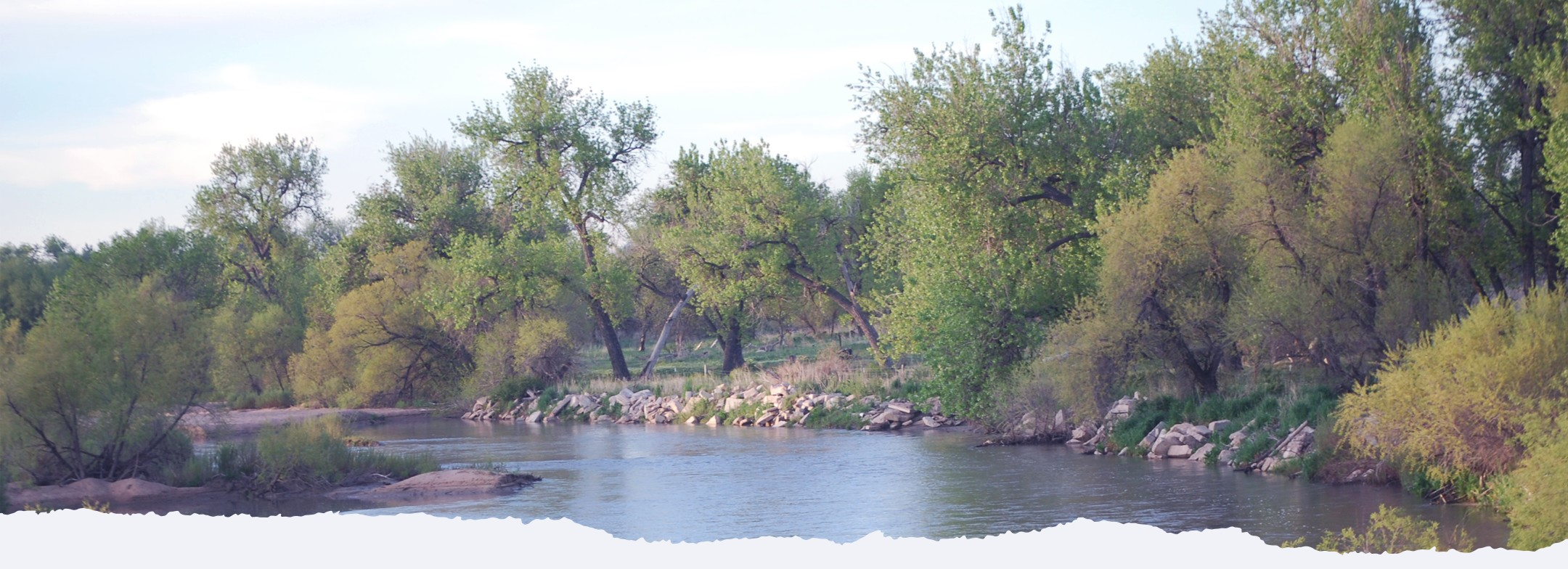 South Platte River Kersey Colorado