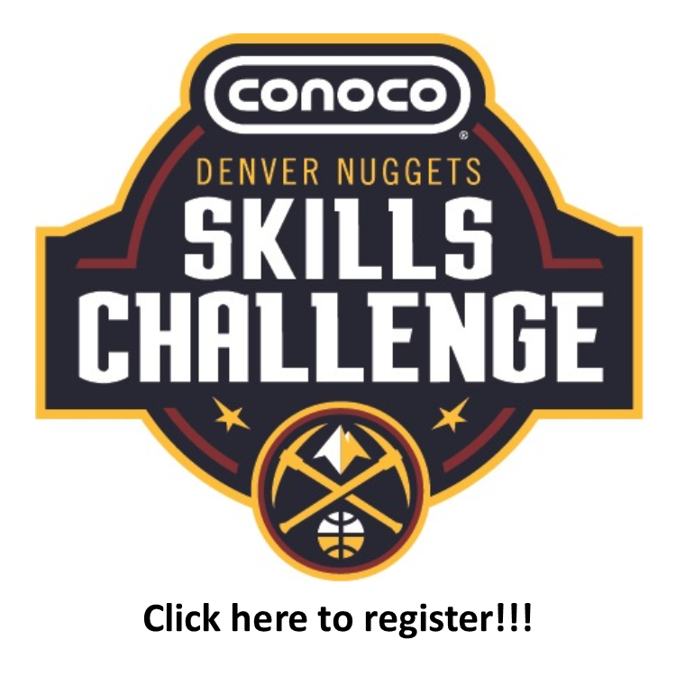 Denver Nuggets Skills Challenge REGISTER BUTTON LINK